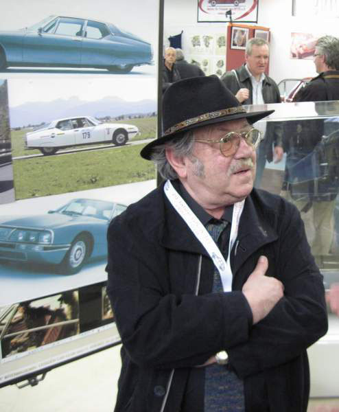 Robert Opron, the spiritual father of the Citroën SM
